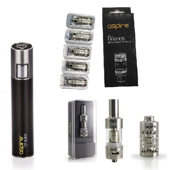 Aspire CF Sub Ohm Atlantis Combo Kit