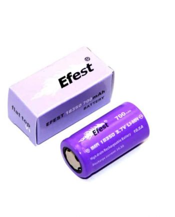 Batteries and Chargers - Efest IMR 18350 Battery Purple 700mah Canada