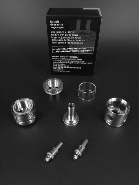 Kangertech Aerotank Turbo Stainless Steel Ontario Canada Wholesale