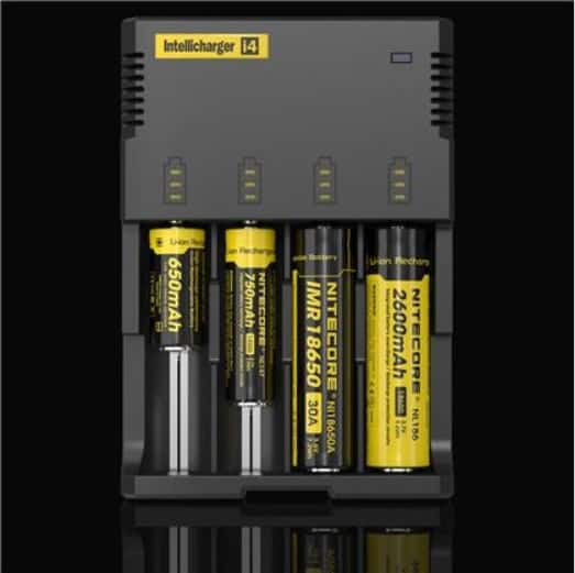 Batteries and Chargers - Nitecore Intelli-charger i4 Canada