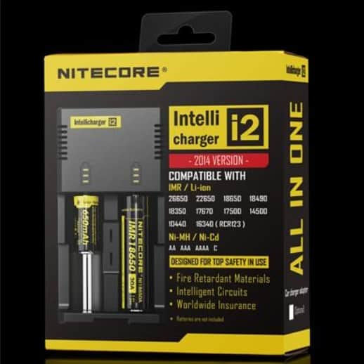 Batteries and Chargers - Nitecore Intellicharger i2 Canada