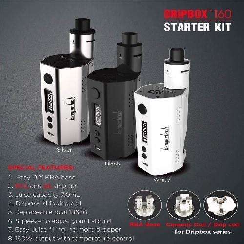 Kanger DripBox 160W TC Kit