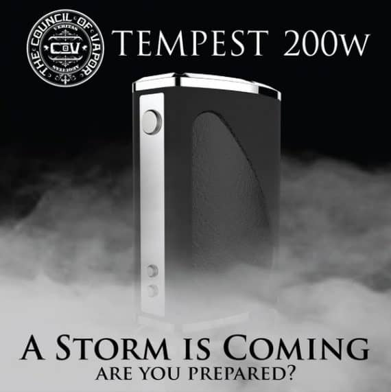 Council of Vapor Tempest Preorder Canada