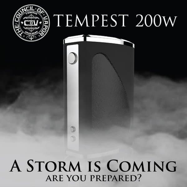 Council of Vapor Tempest Preorder Canada