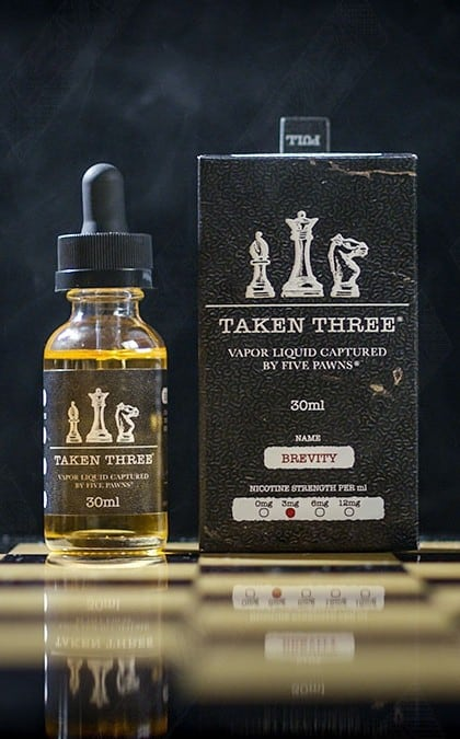 five pawns taken three brevity