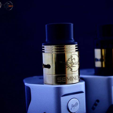 RDA - Seminole G24 (24 Karat Gold Plated) RDA by CompVape