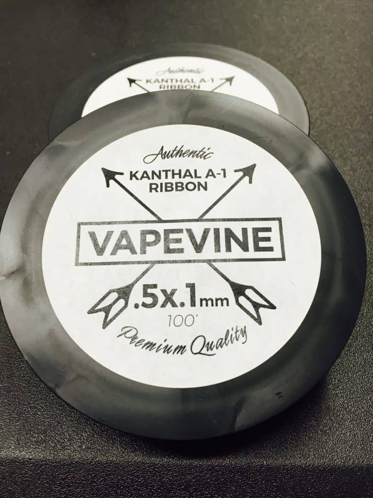 Kanthal A-1 Ribbon Wire 100ft Spool (Canada) >> VapeVine.ca