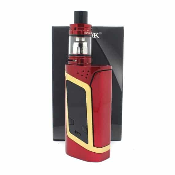 smok alien in red and gold
