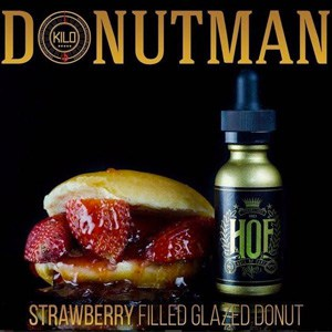 donut man e liquid by hof hall of fame