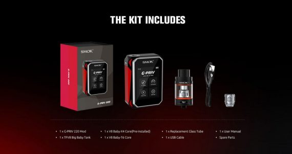 smok g priv full kit in Canada