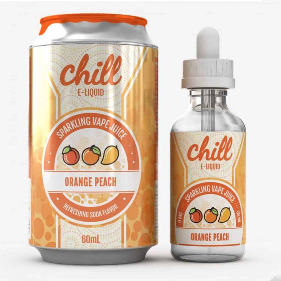 Chill Orange Peach eliquid Canada