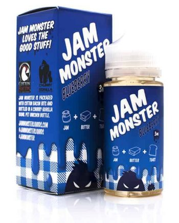 Jam Monster Blueberry Eliquid Canada