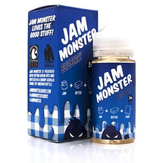 Jam Monster Blueberry Eliquid Canada