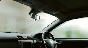 Car windshiled vapor cleaner