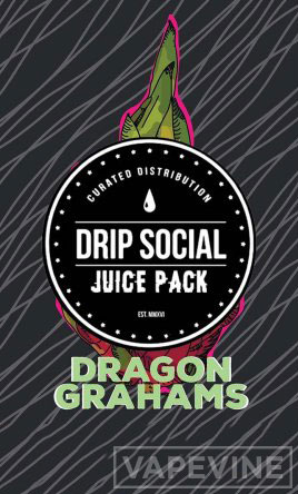 drip social dragon grahams juice pack