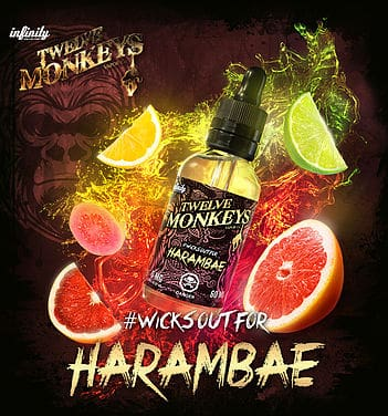 Harambae Twelve Monkeys Eliquid