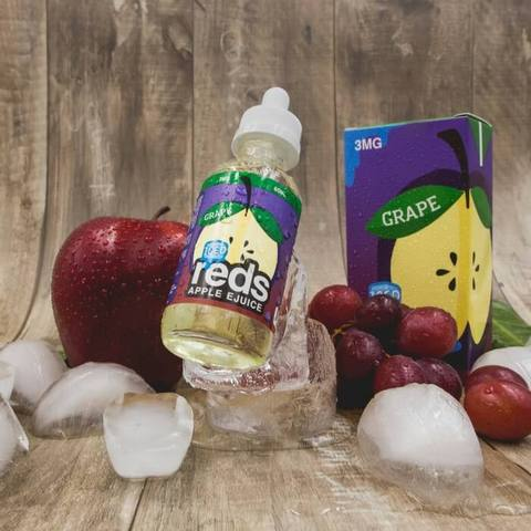 Iced Reds Grape Apple ejuice Canada