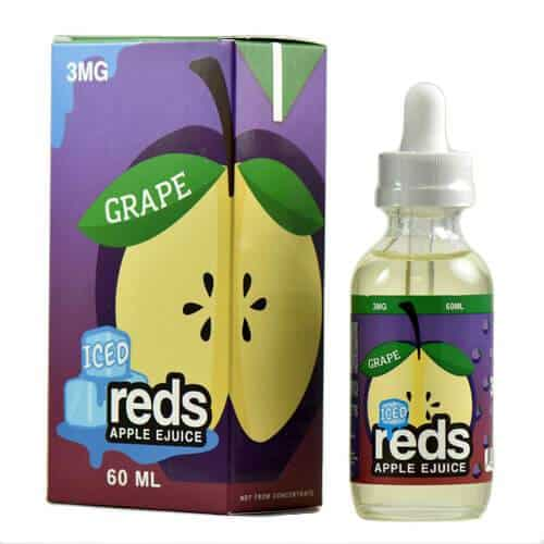 Iced Reds Grape ejuice Canada