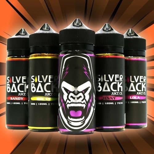 SilverBack Full E-Juice Line Canada