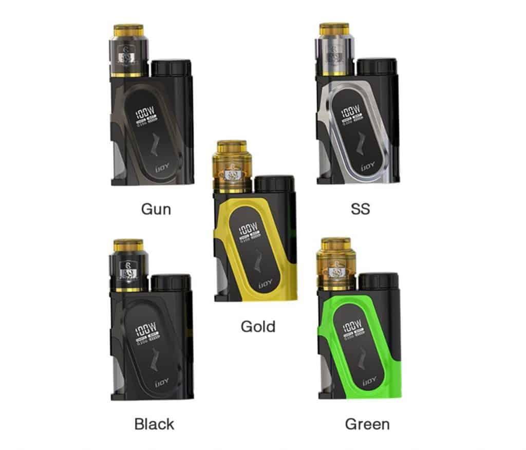 iJoy Capo 100w Squonker Kit with RDA & 20700 Battery (Canada) >> VapeVine ca