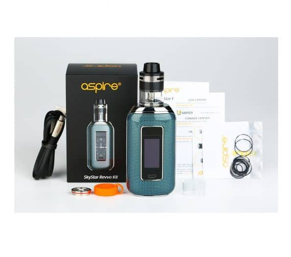 Aspire Skystar Revvo Kit Contents Canada