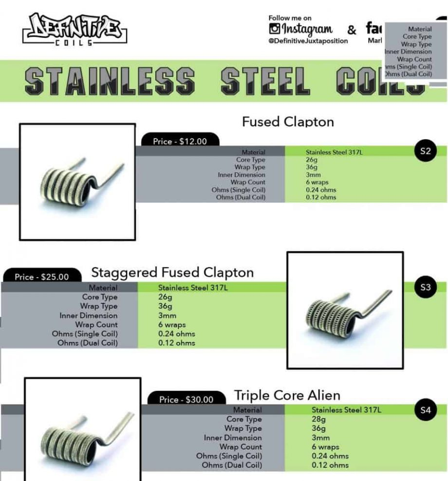 Accessories & Replacement Parts - Definitive Stainless Coils Canada