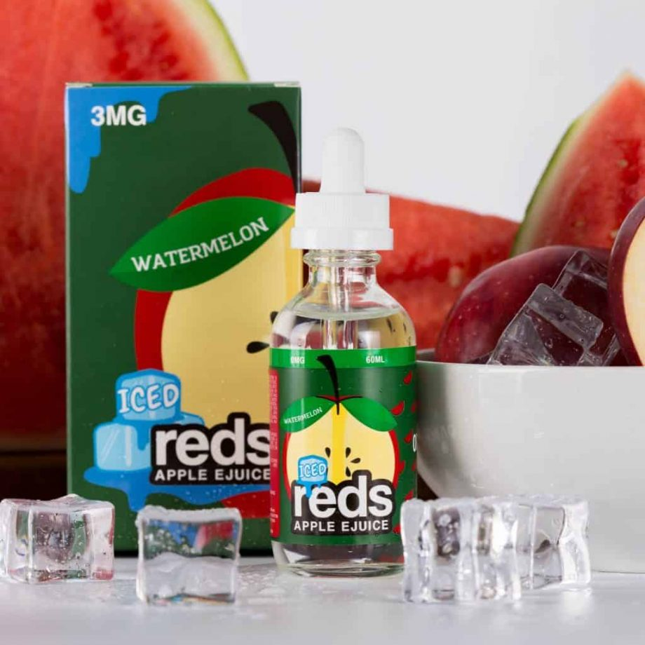 Iced Reds Watermelon Eliquid Canada