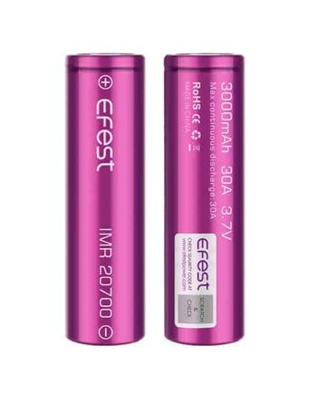 Batteries and Chargers - Efest 20700 High-Drain Battery