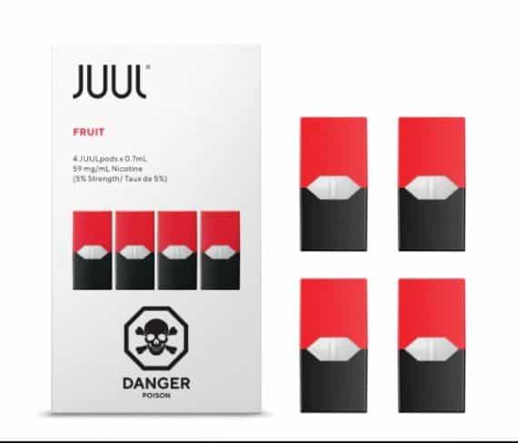 JUUL Fruit Pods Canada