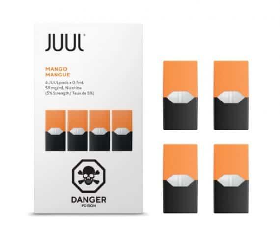 JUUL Mango Pods Canada