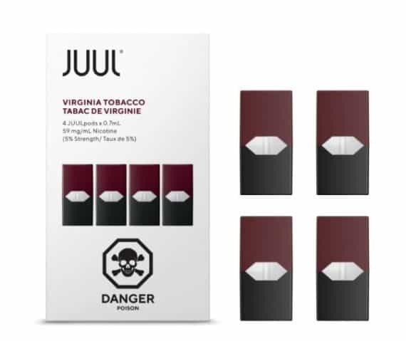 Juul Virginia Tobacco Pods Canada