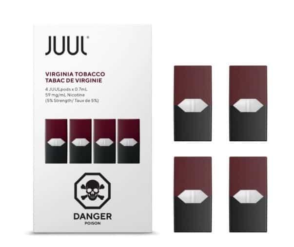 Juul Virginia Tobacco Pods Canada