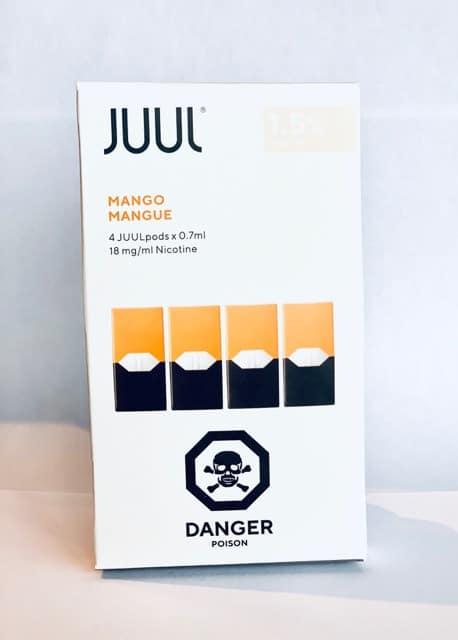 Mango JUUL Pods 1.5 Percent Canada