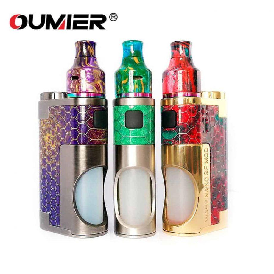 Squonker Mods / Kits - Oumier Wasp Nano Squonk Kit Canada