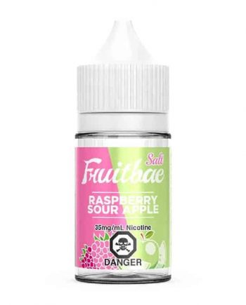 Raspberry Sour Apple Fruitbae Salt Canadal