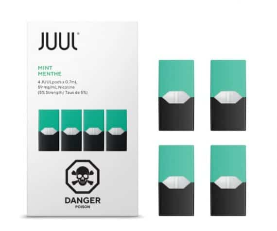 JUUL Mint Pods Canada