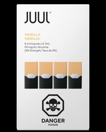 JUUL Vanilla Pods Canada