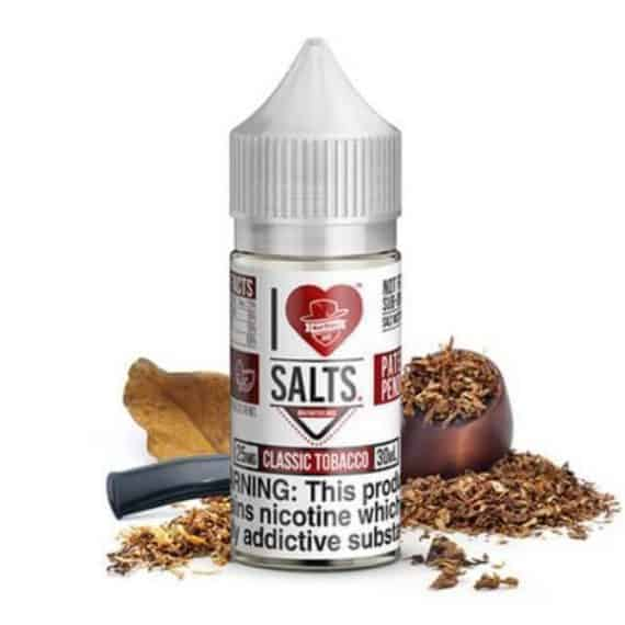 Classic Tobacco I love Salts by Mad Hatter Nicotine Salt Canada