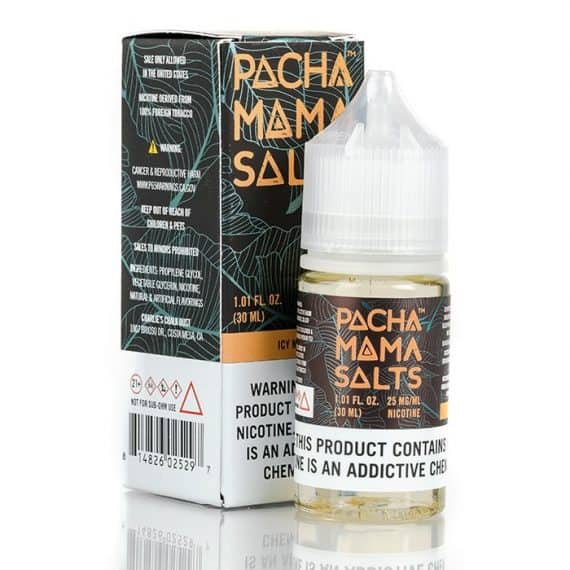 Pachamama Salts Icy Mango 30ml Nic Salt Canada