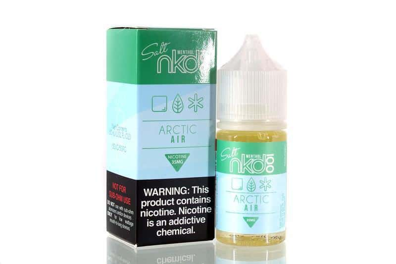 Arctic Air Nicotine Salt by Naked 100 Canada