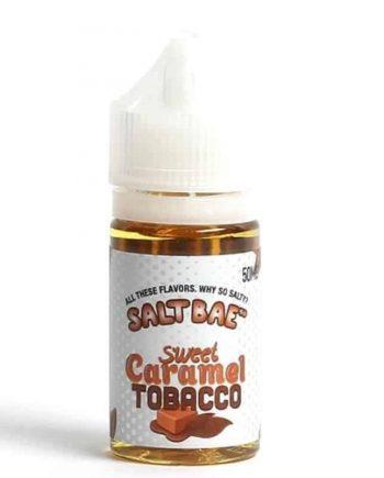 Sweet Caramel Tobacco Nicotine Salt by Salt Bae Canada
