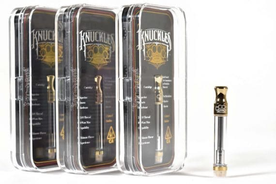 Brass Knuckles Gold Cartridge Canada