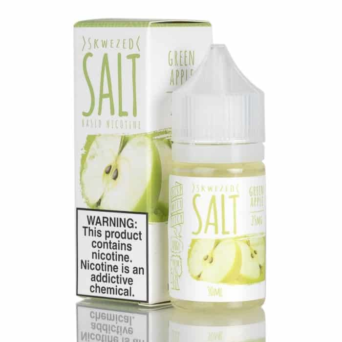 SKWEZED Salt Green Apple Flavour Canada