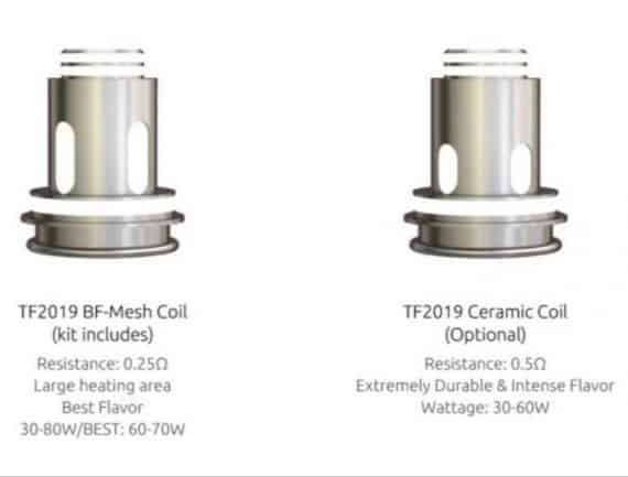 Smok TF2019 coils for TF Tank