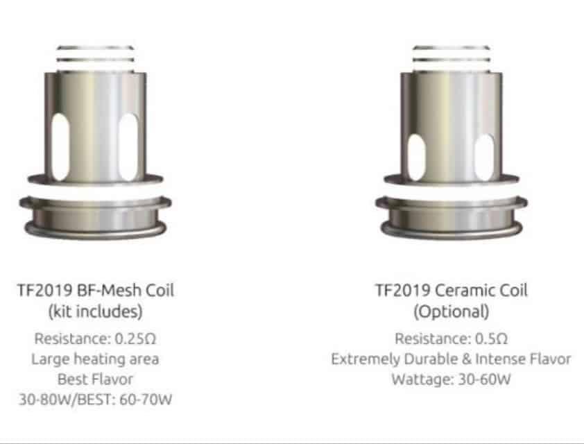 Smok TF2019 coils for TF Tank