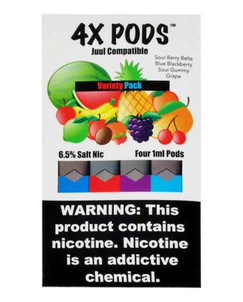 4X Pods Variety Pack JUUL Compatible Canada