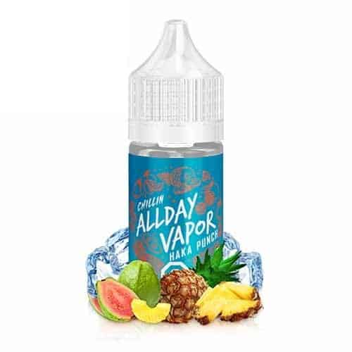 Chillin AllDay Vapor Haka Punch Nic Salt Canada