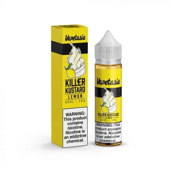Vapetasia Killer Kustard Lemon Ejuice Canada