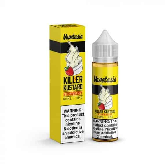 Vapetasia Killer Kustard Strawberry Ejuice Canada