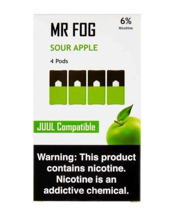 Mr Fog Sour Apple Pods Canada